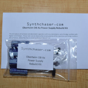Oberheim OB-Xa Power Supply Capacitor & Rebuild Kit
